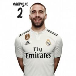 Postal Real Madrid 2018/2019 Carvajal BustoMundialito