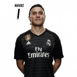 Postal Real Madrid 2018/2019 Keylor Navas Busto Mundialito