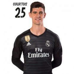 Postal Real Madrid 2018/2019 Courtois BustoMundialito
