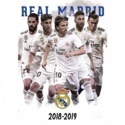 Postal A4 Real Madrid 2018/2019 Grupo Mundialito
