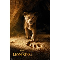 Poster Disney El Rey Leon Simba Real Action