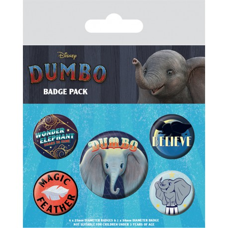 Pack Chapas Dumbo