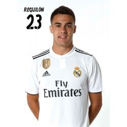 Postal Real Madrid 2018/2019 Reguilon Busto Mundialito