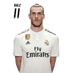 Postal Real Madrid 2018/2019 Bale Busto Mundialito