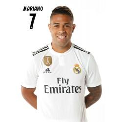 Postal Real Madrid 2018/2019 Mariano Busto Mundialito