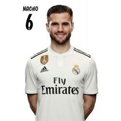 Postal Real Madrid 2018/2019 Nacho Busto Mundialito