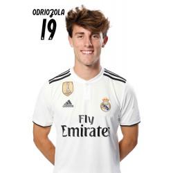 Postal Real Madrid 2018/2019 Odriozola Busto Mundialito