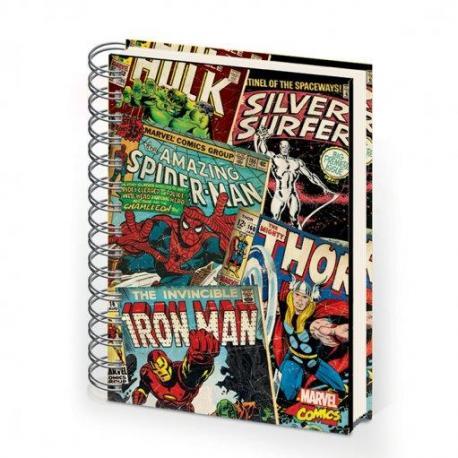 Cuaderno A5 Marvel Montaje