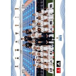Postal A4 Real Madrid 2018/2019 Plantilla Mundialito