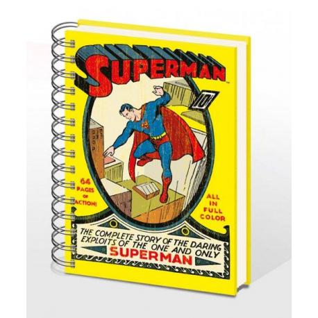 Cuaderno A5 DC Comic Superman