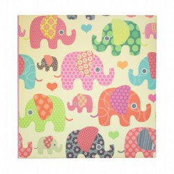 Album Foto 200 Bolsillos 10X15Cm Cute Animals Elephant
