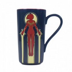 Taza Latte Marvel Captain Marvel