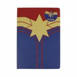 Cuaderno A5 Marvel Captain Marvel