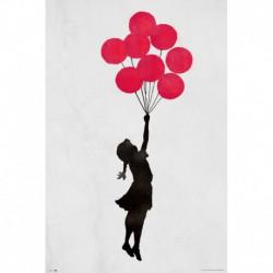 Poster Brandalised Girl Floating Original