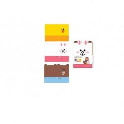 Set De 3 Cuadernos A6 Line Friends