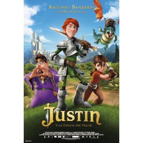 Poster Justin y la Espada del valor