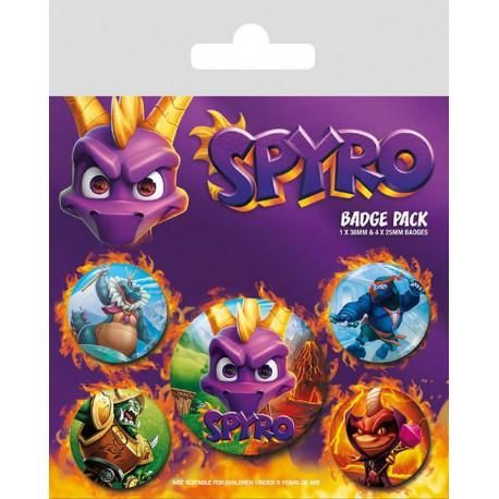 Pack Chapas Spyro