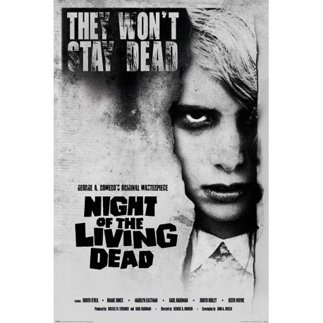 Poster Night Of The Living Dead Girl