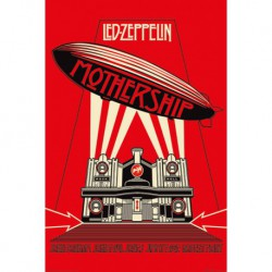 Poster Led Zeppelin Mothership Red