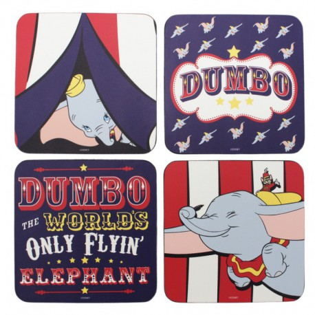 Posavasos Set De 4 Disney Dumbo Dumbo