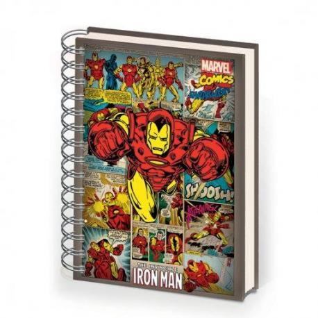 Cuaderno A5 Iron Man