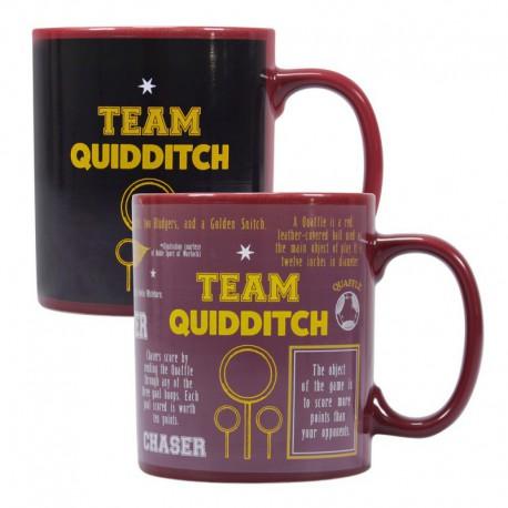 Taza Termocolora Harry Potter Quidditch