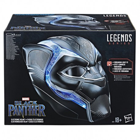 Casco Electronico Marvel Black Panther