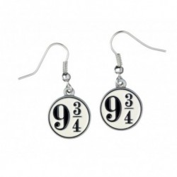Pendientes Harry Potter Platform 9 3/4