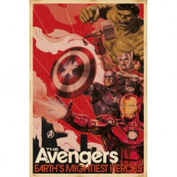 Poster Marvel Avengers Earths Mightiest Heroes