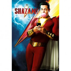 Poster Dc Comics Shazam One Sheet