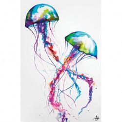 Poster Marc Allante Jellyfish