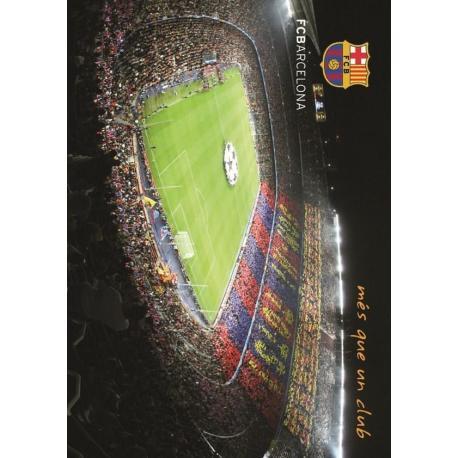 Postal A4 F.C. Barcelona Camp Nou