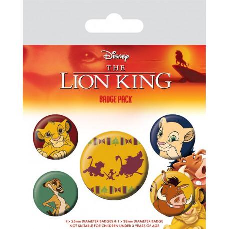 Pack Chapas Disney El Rey Leon Hakuna Matata