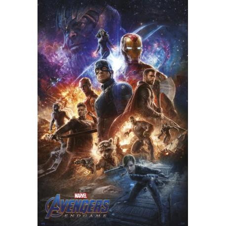Poster Marvel Avengers Endgame 1