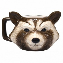 Taza 3D Marvel Gotg Rocket