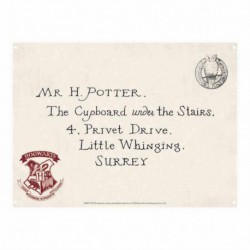 Chapa Metalica Pequeña Harry Potter Letters