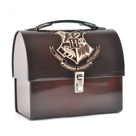 Caja Metalica Harry Potter Hogwarts Crest