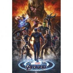 Poster Marvel Avengers Endgame 2