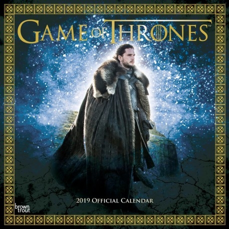 Calendario 30X30 2019 Game Of Thrones