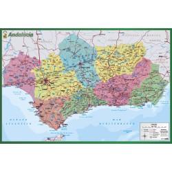 Lamina Didactica Mapa De Andalucia