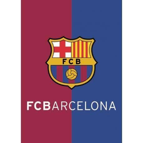 Postal A4 F.C. Barcelona Escudo