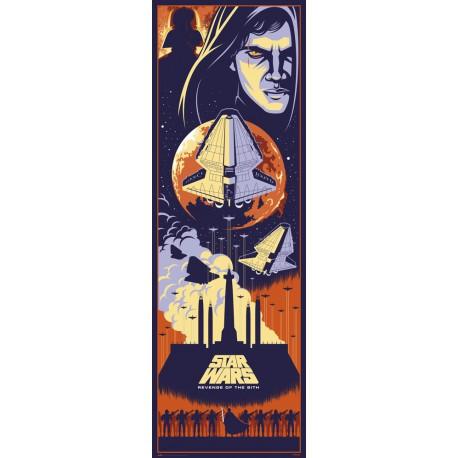 Poster Puerta Star Wars Episodio III