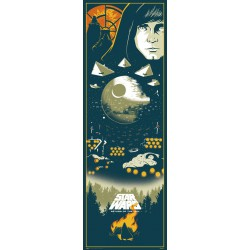 Poster Puerta Star Wars Episodio VI