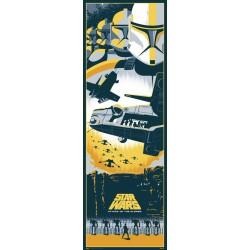 Poster Puerta Star Wars Episodio II