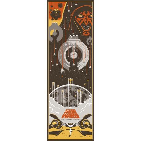 Poster Puerta Star Wars Episodio I