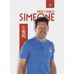 Postal Atletico De Madrid 2018/2019 Simeone Busto