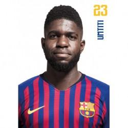 Postal Fc Barcelona 2018/2019 Umtiti Busto