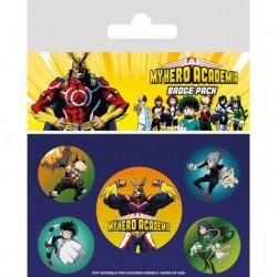 Pack Chapas My Hero Academia Personajes