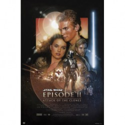 Poster Star Wars Episode II