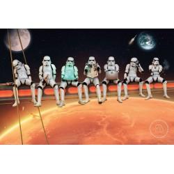 Poster Star Wars Stormtrooper On Girders